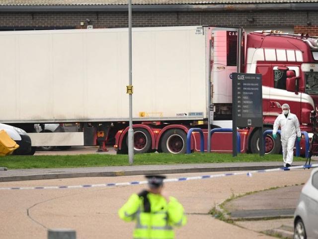 Bộ Công an, Bộ Ngoại giao: 39 người tử vong trong container tại Anh là người Việt Nam