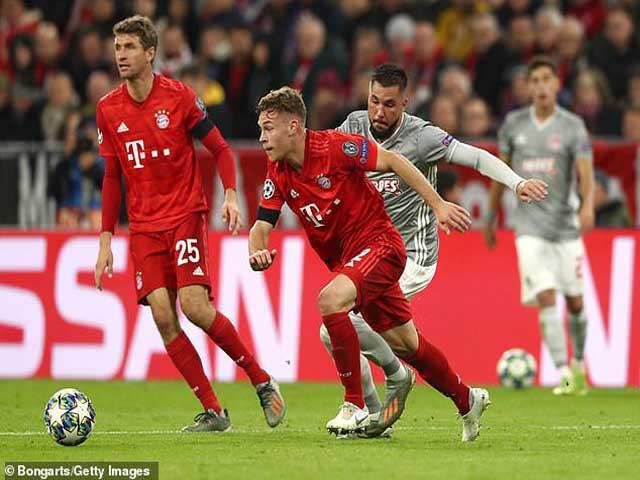 Kết quả bóng đá Cúp C1 Bayern Munich - Olympiakos: Người hùng quen mặt, định đoạt phút 89