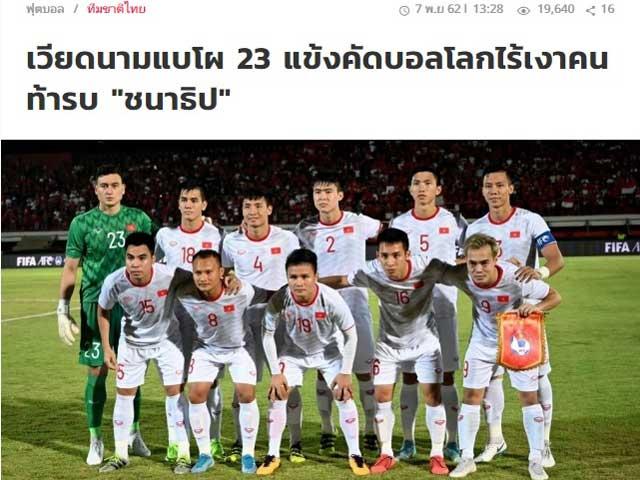 """Báo Thái Lan chốt danh sách ĐT Việt Nam """"giúp"""" thầy Park: SAO nào bị loại?"""
