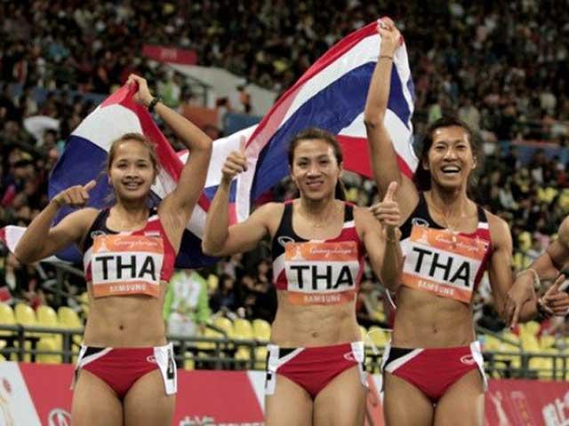 """Việt Nam làm """"Vua điền kinh"""" SEA Games: Thái Lan, Philippines không ngồi yên"""