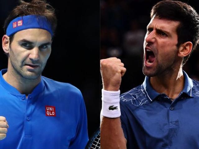"""ATP Finals ngày 1: Djokovic gặp """"ẩn số"""", Federer đụng """"khắc tinh"""""""