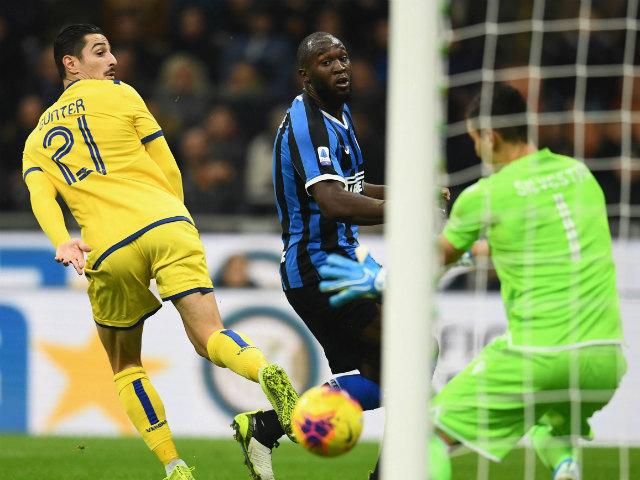 Video highlight trận Inter Milan - Hellas Verona: Lukaku vô duyên, vỡ òa nhờ siêu phẩm
