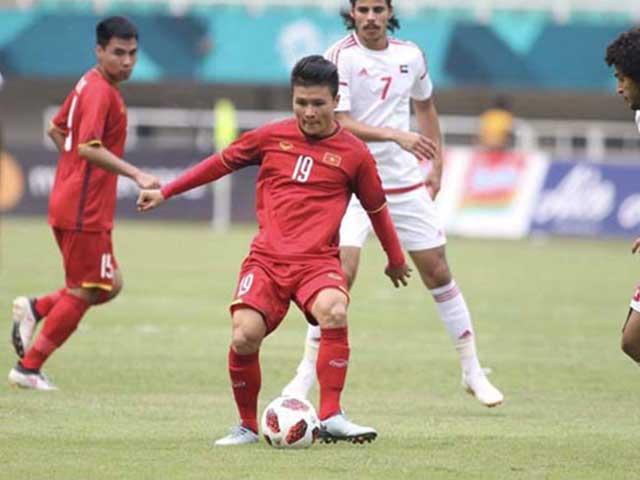 Trực tiếp bóng đá ĐT Việt Nam - UAE: Tiến Linh đá cắm, Quang Hải & Văn Toàn yểm trợ
