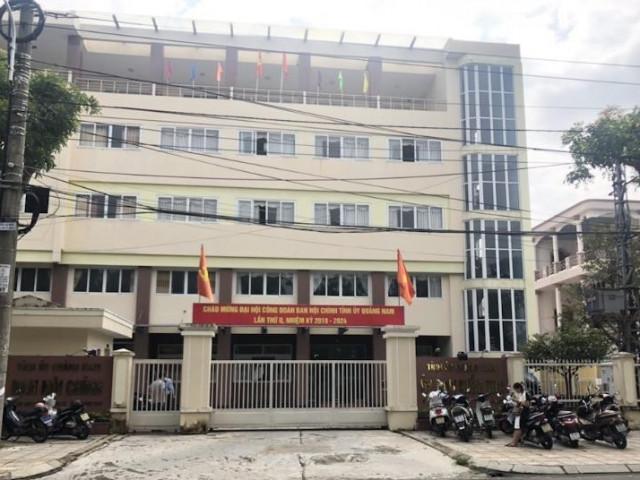 Một cán bộ Ủy ban Kiểm tra Quảng Nam tử vong tại trụ sở