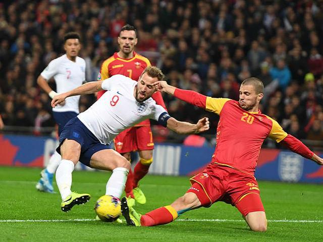 Video highlight trận Anh - Montenegro: Đại tiệc 7 bàn, hat-trick siêu sao đón cột mốc 1000