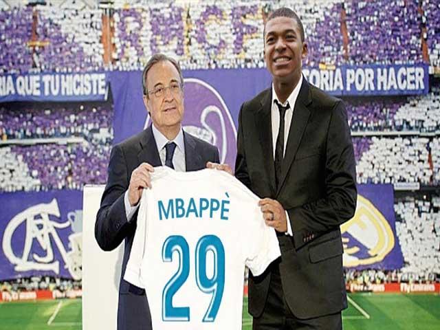 """Bố già"" Perez chiều Zidane, Real quyết nổ ""bom tấn"" Mbappe 400 triệu euro"