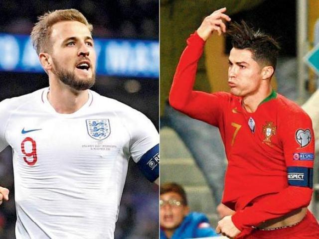 """ĐT Anh, Pháp """"chốt hạ"""" vòng loại Euro: Kane cảnh giác bị Ronaldo qua mặt"""