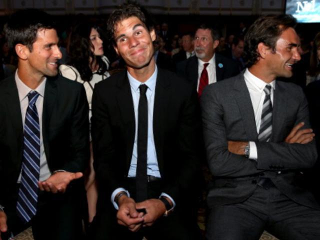 """Bảng xếp hạng tennis 18/11: Thế """"chân kiềng"""" Nadal - Djokovic - Federer và """"Vua"""" mới"""
