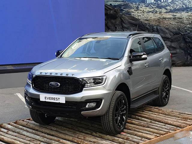 Cận cảnh Ford Ranger và Everest vừa ra mắt tại Thái Lan