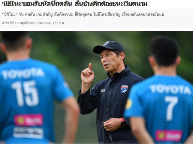 Thái Lan lo lắng đấu ĐT Việt Nam: Sống còn trận cầu 6 điểm, áp lực ngàn cân