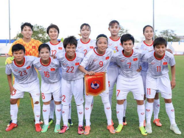 Lịch thi đấu bóng đá Nữ Việt Nam tại SEA Games 30