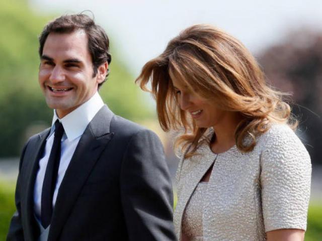 """Federer """"trắng tay"""" trước khi gặp vợ: Thành huyền thoại nhờ bạn đời"""