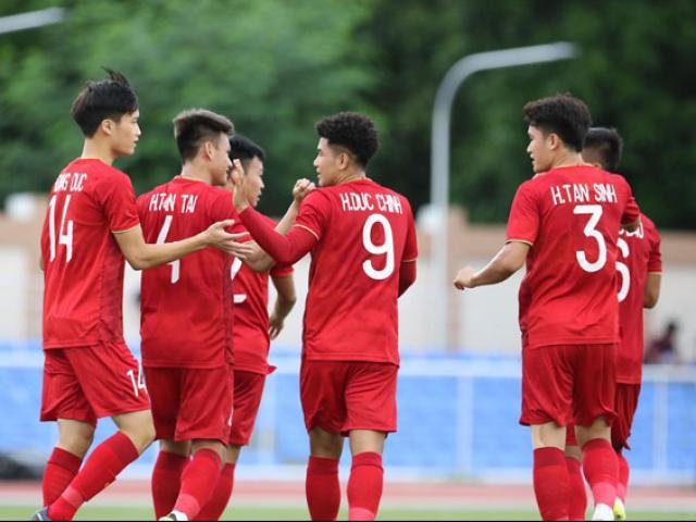 """Hà Đức Chinh """"mở hàng"""" cho U22 Việt Nam săn vàng SEA Games: Không chiến sở trường"""