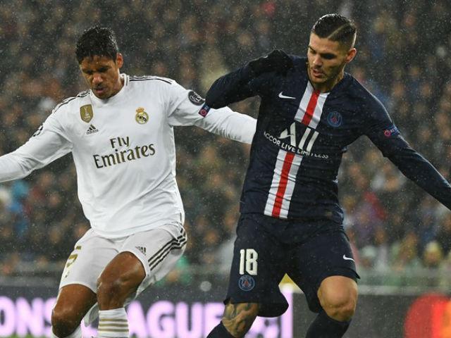 Trực tiếp bóng đá Real Madrid - PSG: Ngỡ ngàng 3 bàn trong 4 phút (Hết giờ)