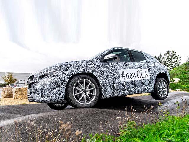 Mercedes-Benz GLA 2020 thế hệ mới đếm ngược ngày ra mắt