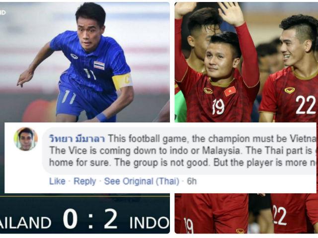 U22 Thái Lan thua sốc nguy cơ loại sớm: Fan Thái cổ vũ... U22 Việt Nam