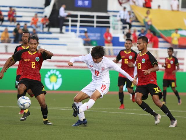Trực tiếp bóng đá U22 Timor Leste - U22 Myanmar: Bàn thắng ngỡ ngàng