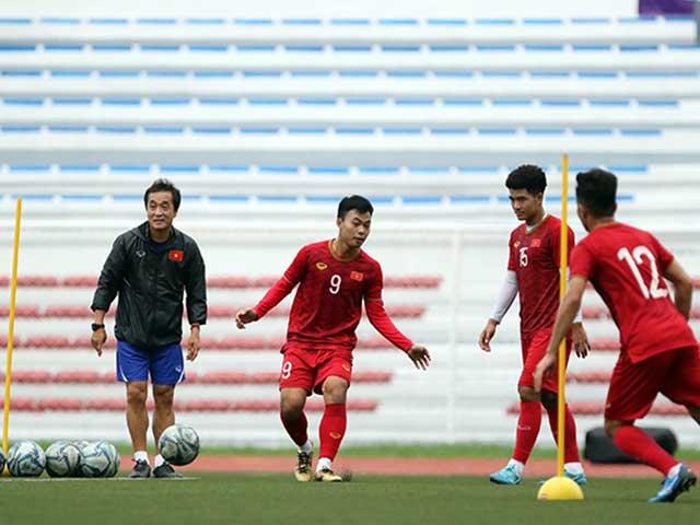 HLV Park Hang Seo cấm cửa ngôi sao lạ xem U22 Việt Nam tập đấu Indonesia