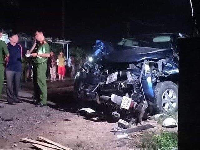 Xe bán tải gây tai nạn thảm khốc 4 người chết, tài xế có dấu hiệu sử dụng rượu bia
