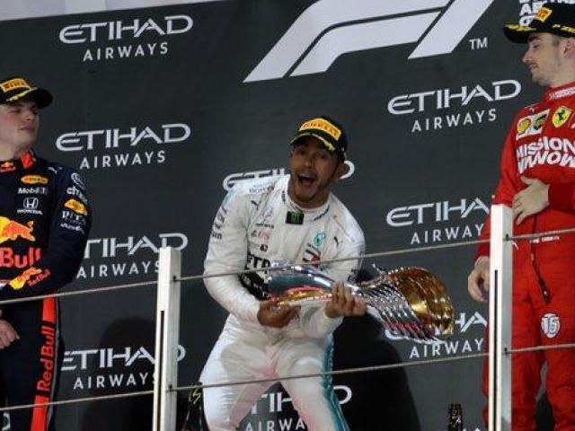 """Đua xe F1, Abu Dhabi GP: """"Vua"""" Hamilton thể hiện đẳng cấp, các cuộc đua tranh hạ màn"""