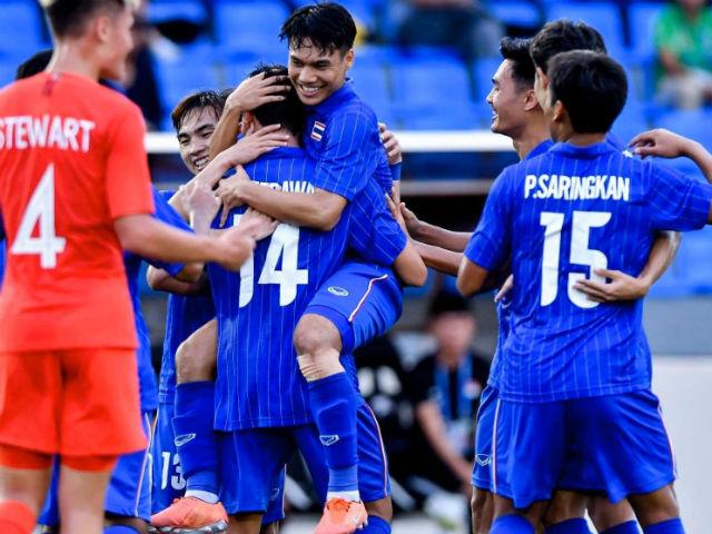 Nóng rực bảng xếp hạng SEA Games: U22 Thái Lan đe dọa ngôi số 1 của Việt Nam