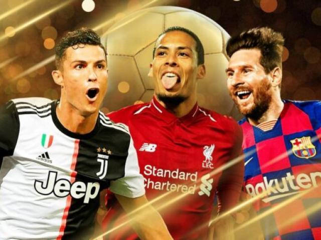 """""""Quả bóng Vàng 2019"""" lộ kết quả: Messi được bao nhiêu điểm, Ronaldo đứng thứ mấy?"""