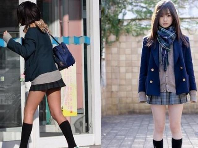 Trường học cấm học sinh nữ mặc tất da chân vì quá gợi cảm
