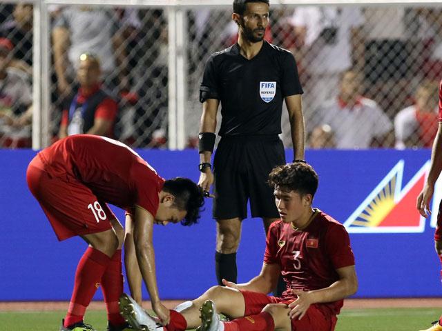 Trò cưng HLV Park Hang Seo nén đau thi đấu trước U22 Indonesia
