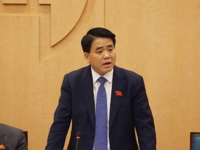 Ông Nguyễn Đức Chung nói gì về phản ứng của mọi người đối với chất Redoxy-3C?