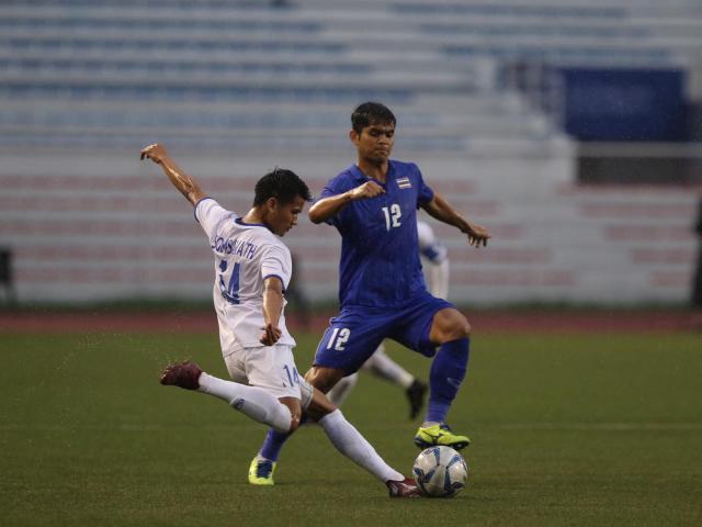 """Trực tiếp bóng đá U22 Thái Lan - U22 Lào: """"Voi chiến"""" dồn ép nghẹt thở"""