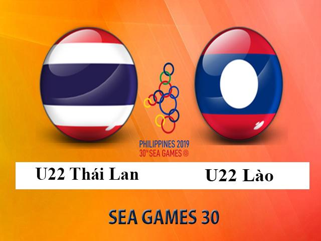 Trực tiếp bóng đá U22 Thái Lan - U22 Lào: Nhiệm vụ thắng đậm, gây áp lực U22 Việt Nam
