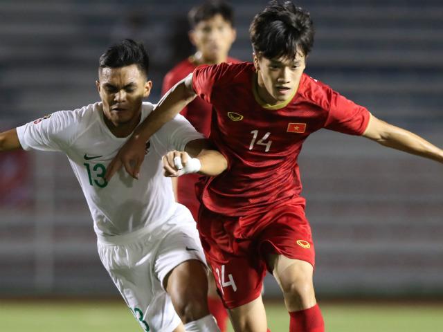 Trực tiếp bóng đá U22 Việt Nam - U22 Singapore: Báo châu Á dự đoán Bùi Tiến Dũng dự bị