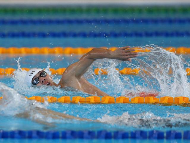 Tuyệt đỉnh kình ngư Huy Hoàng phá sâu kỷ lục bơi 400m giật HCV SEA Games