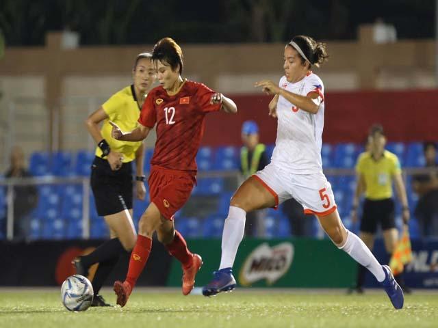Video highlight trận ĐT nữ Việt Nam - Philippines: Đẳng cấp Tuyết Dung, vé vàng chung kết