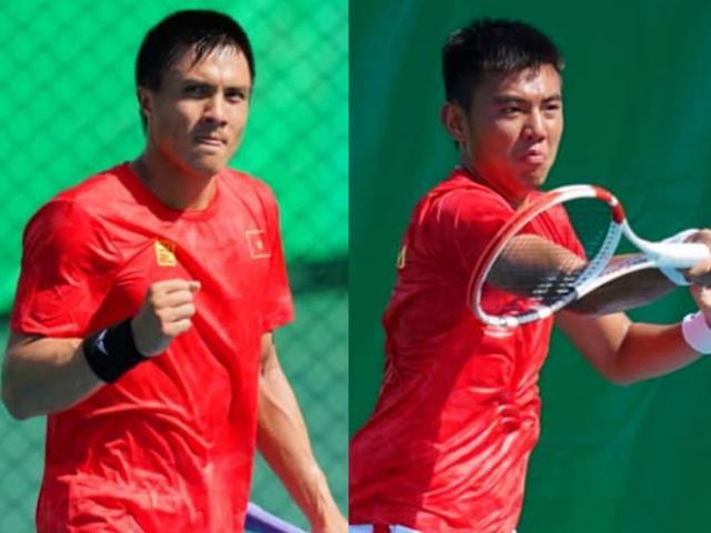 Kỳ tích lịch sử tennis Việt Nam: Hoàng Nam, Daniel Nguyễn vào chung kết SEA Games