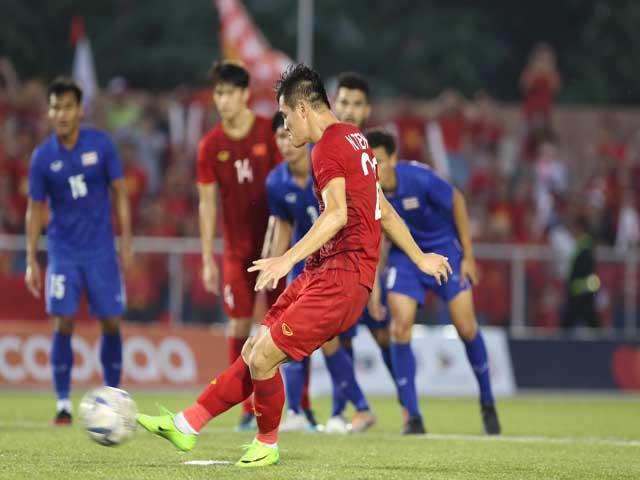 Nghẹt thở U22 Việt Nam: Tiến Linh sửa sai cho đồng đội, vỡ òa penalty 2-2