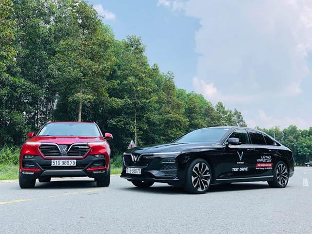 Vinfast có thêm chính sách sách ưu đãi cho khách hàng mua xe Lux trong tháng 12