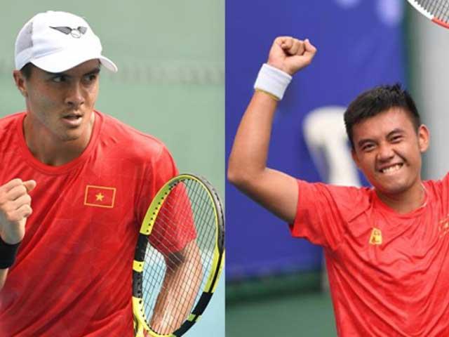 Trực tiếp chung kết tennis SEA Games 30 Hoàng Nam - Daniel Nguyễn: Set 1 chóng vánh, break thần sầu