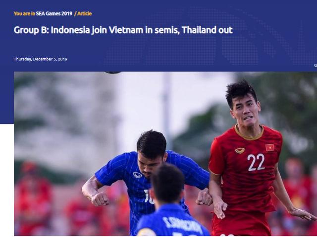 """U22 Việt Nam ngược dòng loại Thái Lan: Báo châu Á nể phục tinh thần """"thép"""""""