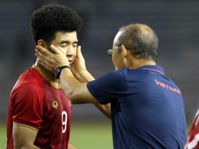 U22 Việt Nam đấu Indonesia chung kết SEA Games, thầy Park ăn mừng ra sao?
