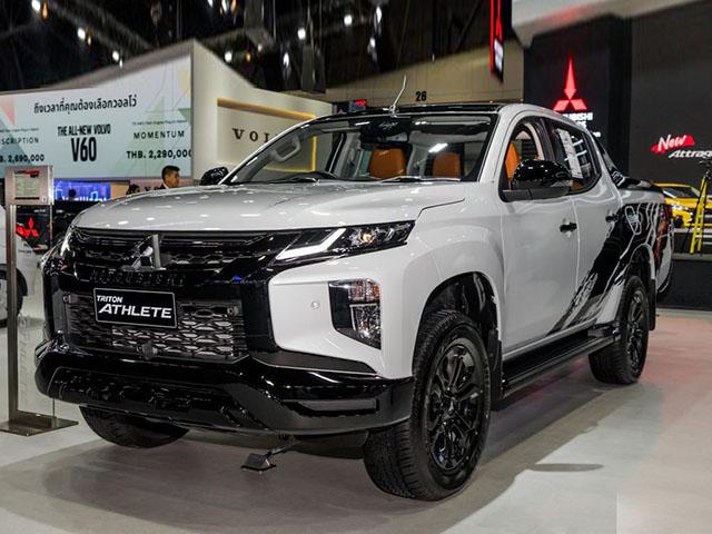 Cận cảnh Mitsubishi Triton thế hệ mới phiên bản đặc biệt Athlete tại Thái Lan