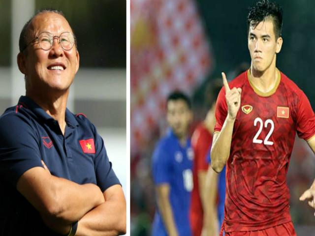 Trực tiếp bóng đá U22 Việt Nam - U22 Campuchia: Tiến Linh - Đức Chinh đá chính