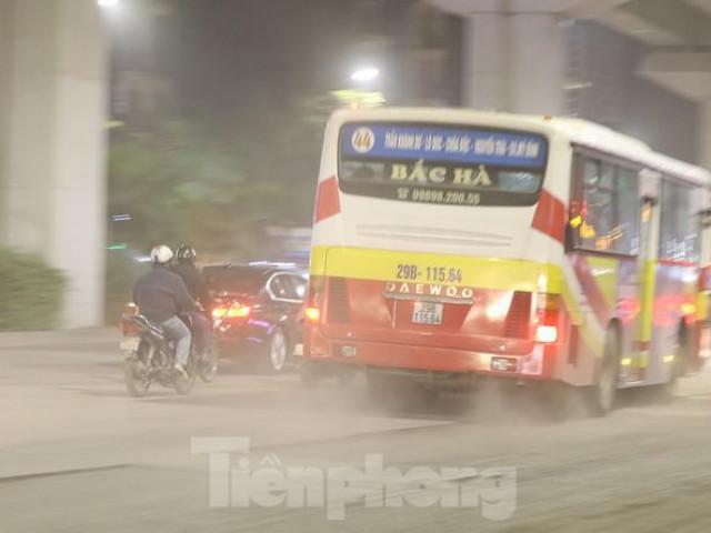 Hà Nội lại tái ô nhiễm không khí nghiêm trọng