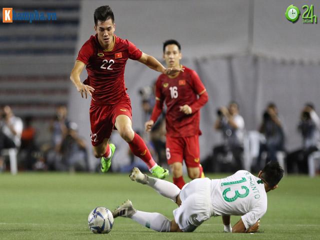 """U22 Việt Nam đấu Indonesia chung kết SEA Games: Thống kê """"khó tin"""", một chín một mười"""