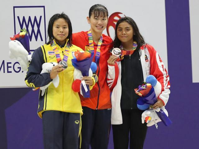 """Bảng xếp hạng huy chương bơi SEA Games: Ánh Viên 6 HCV, Việt Nam vẫn là """"ông lớn"""""""
