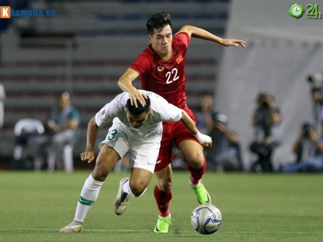 Trực tiếp bóng đá chung kết SEA Games U22 Việt Nam - U22 Indonesia: Đối thủ cực mạnh đánh biên