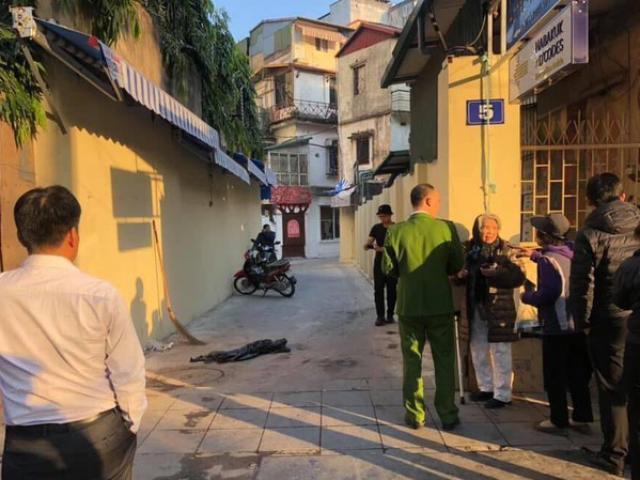 Người đàn ông nghi nổ súng vào nhóm thanh niên ngồi uống nước tại Hà Nội