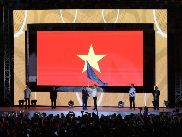 Việt Nam chính thức nhận cờ đăng cai SEA Games 31: Chờ lên số 1 Đông Nam Á