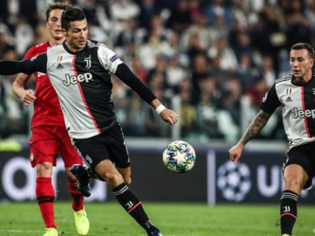 Trực tiếp bóng đá Leverkusen - Juventus: Ronaldo có đá chính?