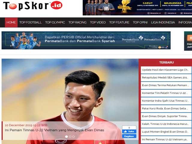 """U22 Việt Nam vô địch SEA Games: Báo Indonesia """"công kích"""" Văn Hậu, cay cú nhận thua"""